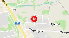 höganäs kommun karta