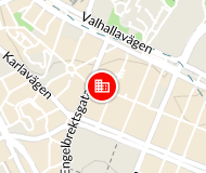 Östermalmsgatan 39 Karta