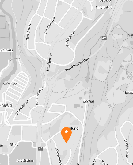 Karta Boras Djurpark.Skogshyddegatan 28 Alideberg Boras Fastighetsformedlingen For