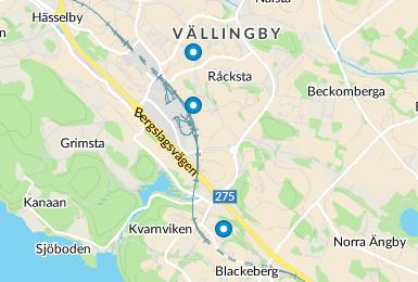 I närheten av Multrågatan 98