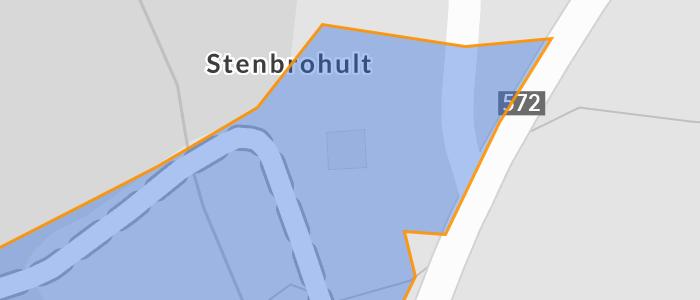 Trafikolycka, singel, Personbil kr av vge, vg 23 Stenbrohult