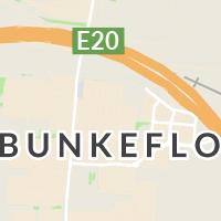 Pressbyrån, Bunkeflostrand