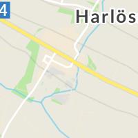 Harlösa Bibliotek, Harlösa