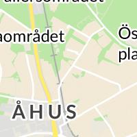 Kristianstads Kommun - Grb Vannebergavägen, Åhus