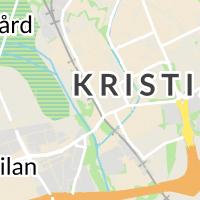 Lantmäteriet M Län, Kristianstad