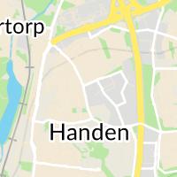 Kommunal Haninge Buss, Handen