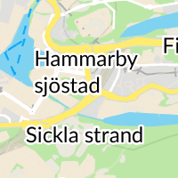 Hammarby sjöstads stödboende, Stockholm