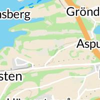 Aspuddsparkens plaskdamm, Hägersten