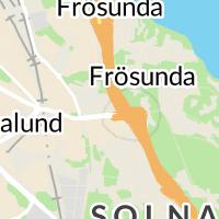 Bilprovningen, Solna