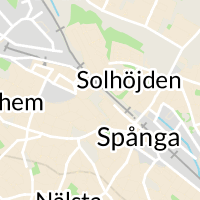 Spånga Stationsväg, Spånga