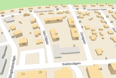 Om Andreas bostad på Västra Tallgatan 2A