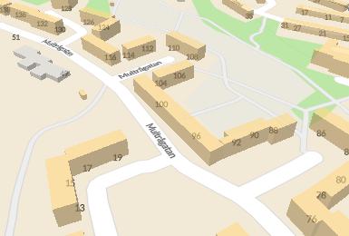 Om Zeinabs bostad på Multrågatan 98