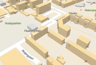 Husby: Kvinna kom hem blodig utreds som mordfrsk