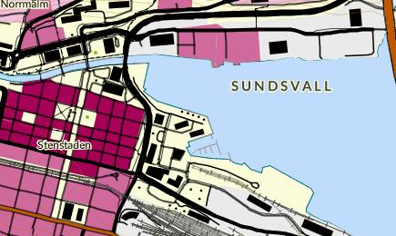 Sundsvalls Gustav Adolfs kyrka - Sundsvalls frsamling